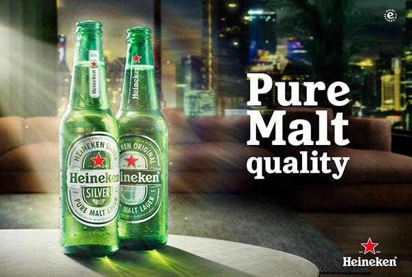 Heineken Pure Malt Quality